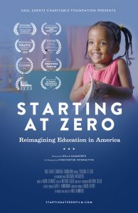 Virtual Lunch & Learn Screening of Starting at Zero @ Online via ZOOM
